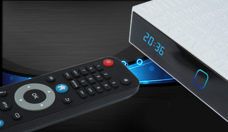 Satellite Receiver with Android 4k 60f with T2+S2 Combo